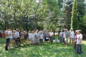 Stovyklos atidarymas (giedamas Draugijos himnas)