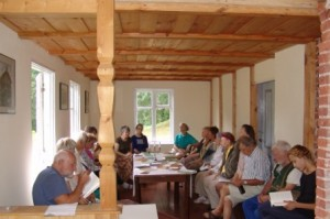 Diskusijos M.Jankaus muziejaus patalpose