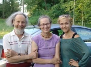 Dr. Juozas Šidiškis, Sigutė Augutienė ir Violeta Lisovaitė