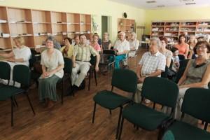 Knygų pristatymo metu Tauragėje